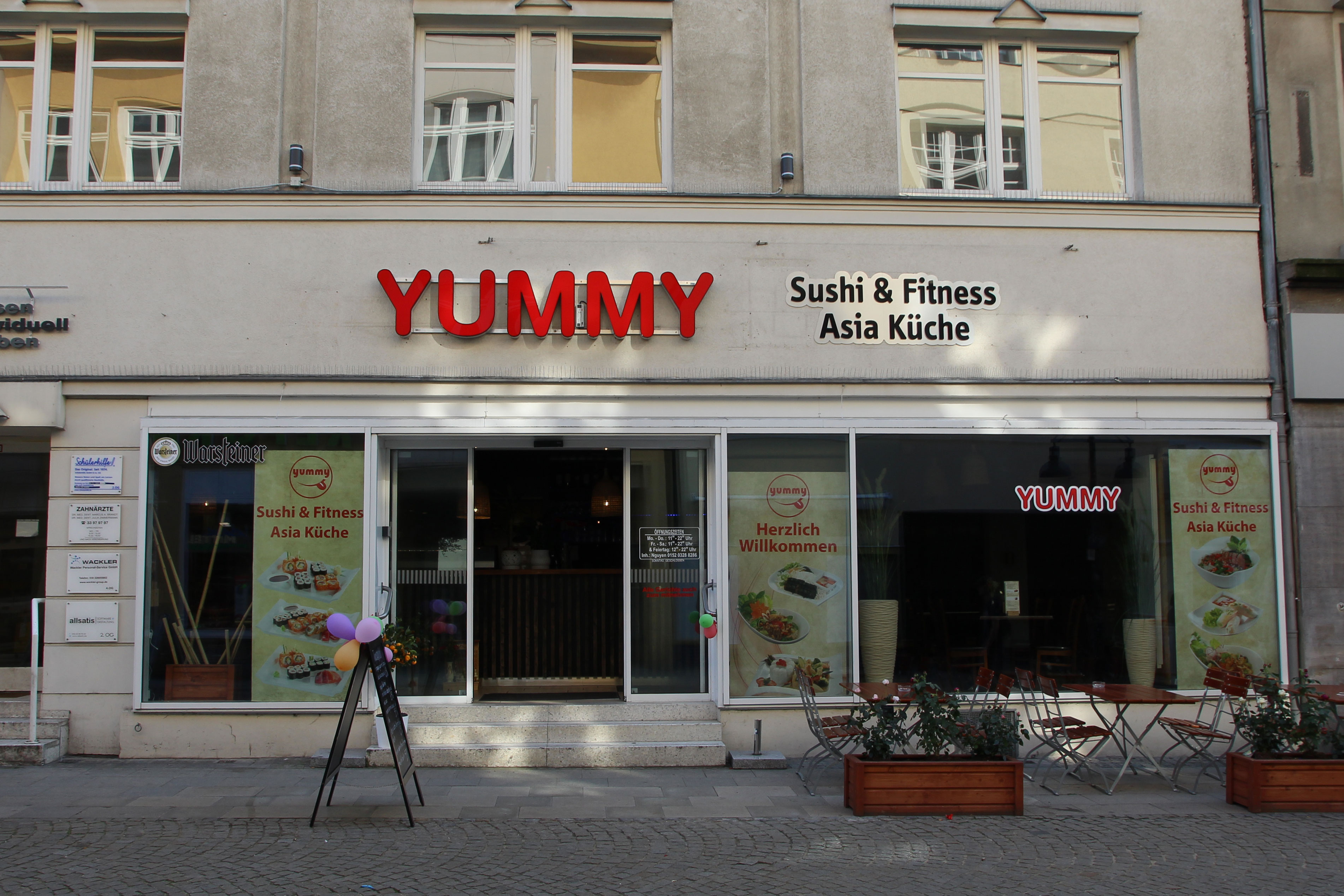 Yummy – Sushi & Fitness Asia Küche