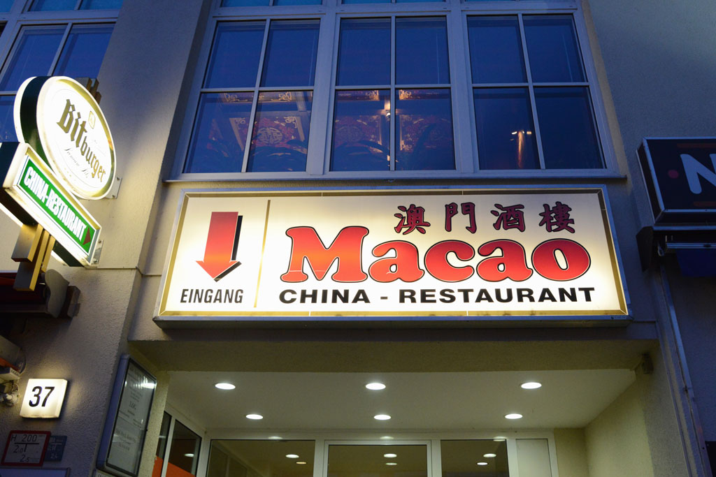 China-Restaurant Macao